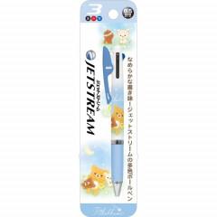 Japan San-X Jetstream 3 Color Multi Ball Pen - Rilakkuma / Star Night