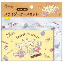 Japan Pokemon Zip Folder File Set 2 - Pikachu