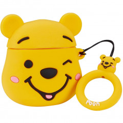 Wink Winnie the Pooh AirPods Case with Ring Holder