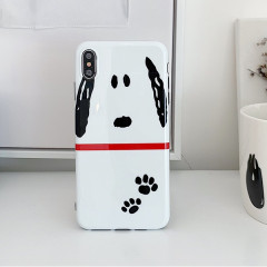 Snoopy Face White Phone Case