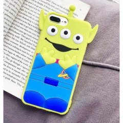 Toy Story Little Green Men Alien Rubber Phone Case