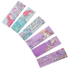 Japan Disney Seal Flake Sticker - Princess Ariel & Rapunzel
