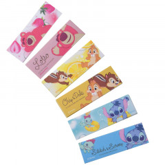 Japan Disney Seal Flake Sticker - Lotso Stitch Chip & Dale