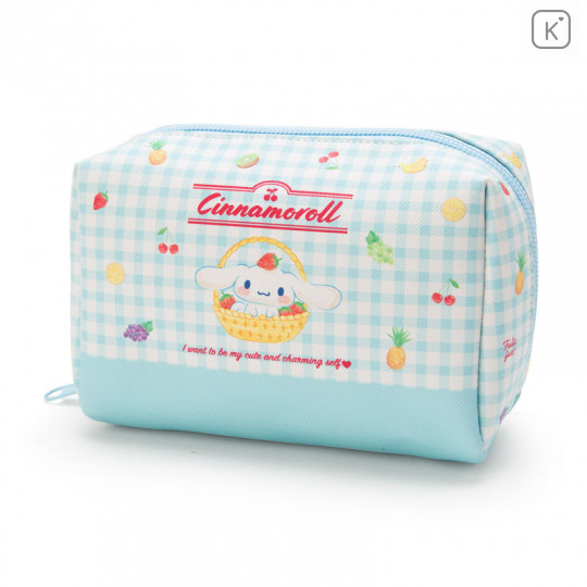 Japan Sanrio Cinnamoroll Pouch (M) Fruit - 1