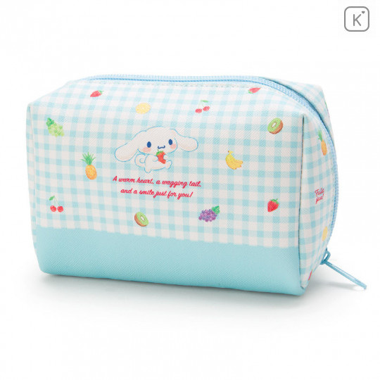 Japan Sanrio Cinnamoroll Pouch (M) Fruit - 2