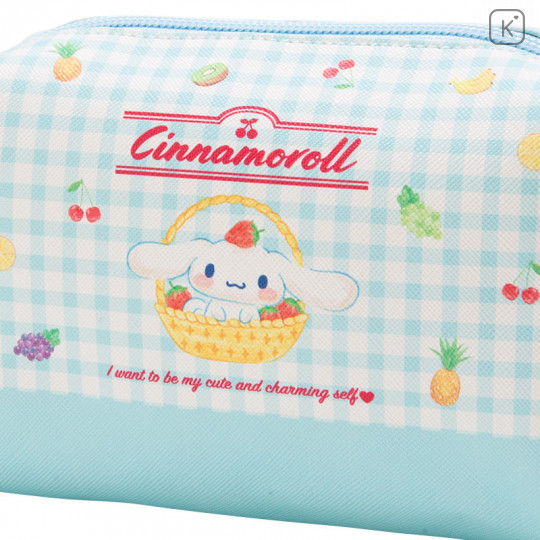 Japan Sanrio Cinnamoroll Pouch (M) Fruit - 4