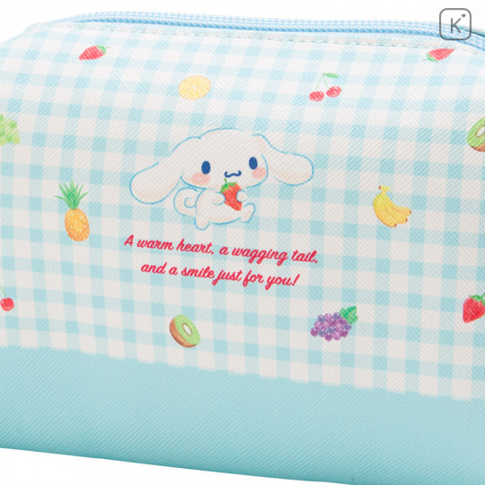 Japan Sanrio Cinnamoroll Pouch (M) Fruit - 5