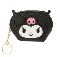 Japan Sanrio Kuromi Mini Pouch (S)  Artificial Leather