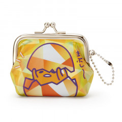 Sanrio Gudetama Keychain Coin Purse - Iridescent Orange