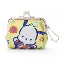 Sanrio Pochacco Keychain Coin Purse - Iridescent Yellow