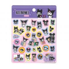 Japan Sanrio Sticker - Kuromi