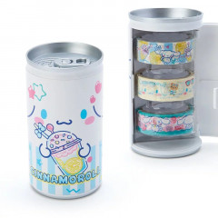 Sanrio Cinnamoroll Japanese Washi Paper Masking Tape - 3 Rolls Set Can