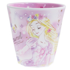 Japan Disney Princess Acrylic Cup  - Rapunzel Purple