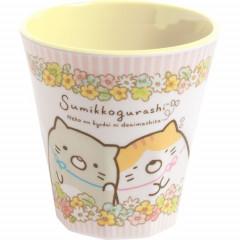 Japan San-X Sumikko Gurashi Acrylic Cup - Flower