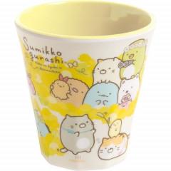 Japan San-X Sumikko Gurashi Acrylic Cup - Yellow