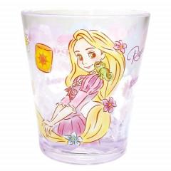 Japan Disney Princess Acrylic Cup Clear Airy - Rapunzel