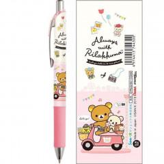 Japan San-X EnerGize Mechanical Pencil - Rilakkuma / Travel with Korilakkuma Pink