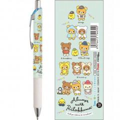 Japan Rilakkuma Pentel EnerGize 0.5mm Mechanical Pencil - Travel with Korilakkuma Blue