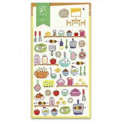 Korea Sonia Photo Nylon Sticker - Kitchen Food