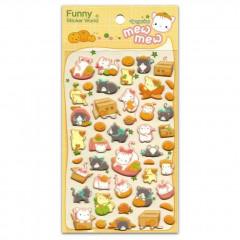 Korea Funny Sticker World Sticker - Tangerine Mew Mew