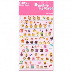 Korea Funny Sticker World Sticker - Sweet Cooking