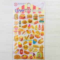 Korea Sticker World Sticker - Fast Food