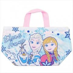 Japan Disney Drawstring Bag - Frozen II Comic Style Hand Bag
