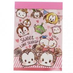 Japan Disney B8 Mini Notepad - Tsum Tsum Sweet Like Sugar