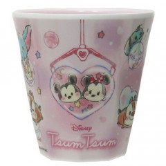 Japan Disney Princess Acrylic Cup  - Tsum Tsum