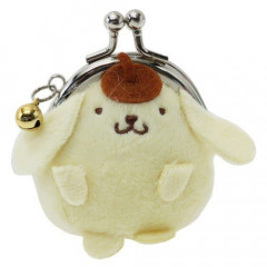 Japan Sanrio Pompompurin Keychain Coin Purse