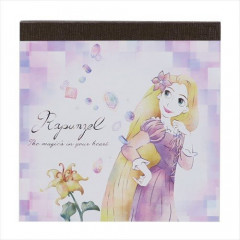 Japan Disney Memo Set - Princess Rapunzel Watercolor