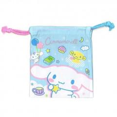 Japan Sanrio Drawstring Bag - Cinnamoroll Sky Blue