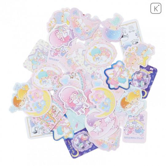 Japan Sanrio Sticker with Case - Little Twin Stars - 2
