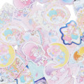 Japan Sanrio Sticker with Case - Little Twin Stars - 4