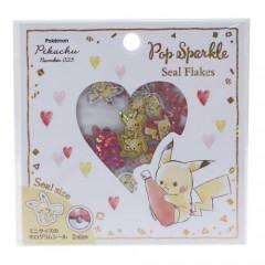 Japan Pokemon Seal Flake Sticker - Pikachu