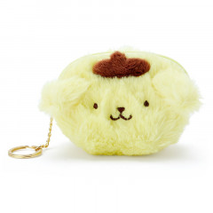 Japan Sanrio Fluffy Mini Pouch (S) - Pompompurin