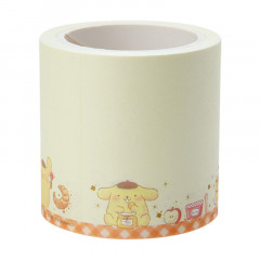 Japan Sanrio Washi Paper Masking Tape - Pompompurin Notes