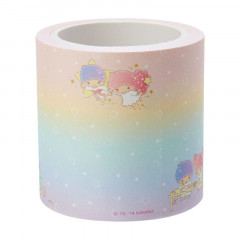 Japan Sanrio Washi Paper Masking Tape - Little Twin Stars Notes