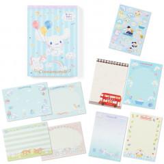 Japan Sanrio A6 Notepad - Cinnamoroll & Balloon