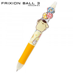 Japan Sanrio × Pilot FriXion Erasable 0.38mm 3-Color Multi Gel Pen - Pompompurin