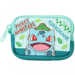 Japan Pokemon Coin Purse Mini Pouch - Bulbasaur