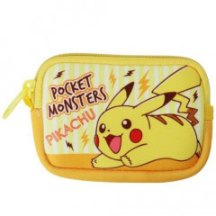 Japan Pokemon Coin Purse Mini Pouch - Pikachu