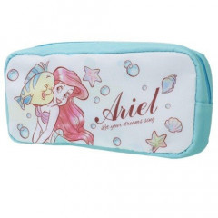 Japan Disney Pencil Case (M) - Princess Ariel Green Blue