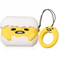 Gudetama Egg AirPods Pro Case with Ring Holder