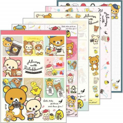 Japan Rilakkuma A6 Notepad - Chairoikoguma Always together