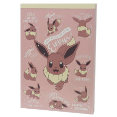 Japan Pokemon A6 Notepad - Eevee