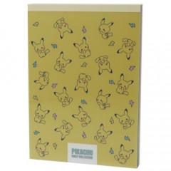 Japan Pokemon A6 Notepad - Pikachu