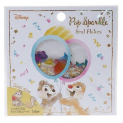 Japan Disney Seal Flake Sticker - Chip & Dale