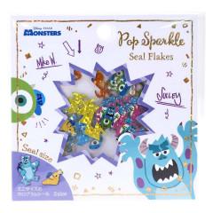 Japan Disney Seal Flake Sticker - Monster University