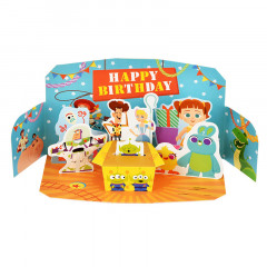 Japan Disney 3D Birthday Card - Toy Story Characters